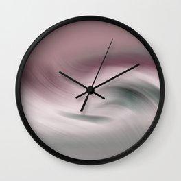 Surreal Waves 2 Wall Clock