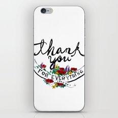Merci iPhone & iPod Skin