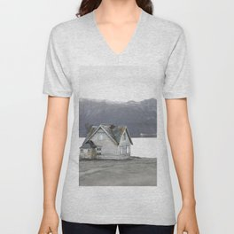 A home in Norway Unisex V-Neck