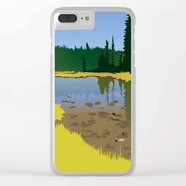 Junction Lake Clear iPhone Case