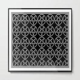 invertedpentacleinvertedpentacle Metal Print