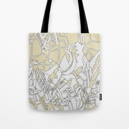 lines and troubles 2 Tote Bag