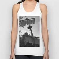 pirate ship Tank Tops featuring Pirate Ship by Yellow Tie