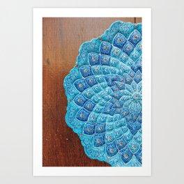 Mandala Porcelain Platter Art Print
