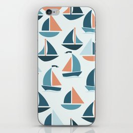 Sailboats iPhone Skin