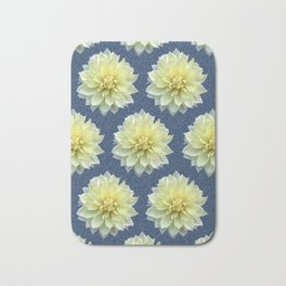 Magnolia Blue Bath Mat