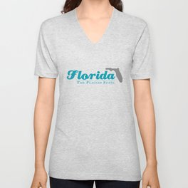 Florida - The Flaccid State Unisex V-Neck