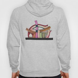 Abstract Theatre Architecture Art 50 Hoody