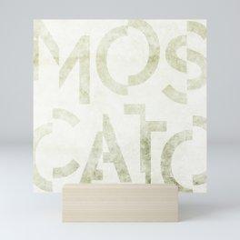 Moscato Wine Typography Mini Art Print