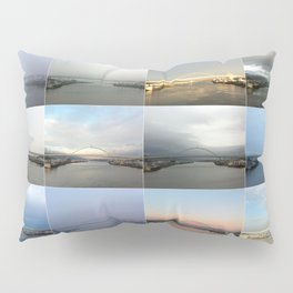 The Many Faces of the Fremont Bridge Pillow Sham