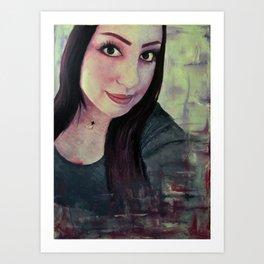 big eyes Art Print