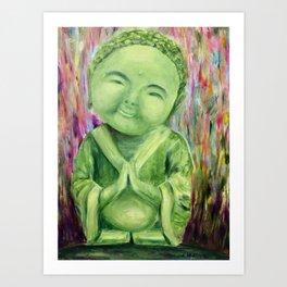 Baby Buddha Art Print