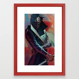 Corvo Attano Framed Art Print