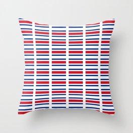 Flag of Costa rica 2 -Costa rican, tico,San José ,Puerto Limón ,Alajuela, heredia. Throw Pillow