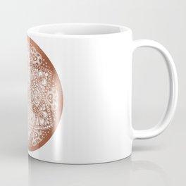 Rose Gold Floral Mandala Coffee Mug