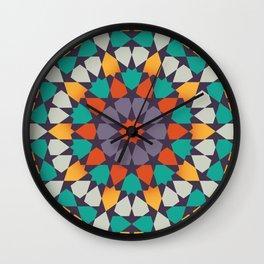 Scattered Petals Wall Clock