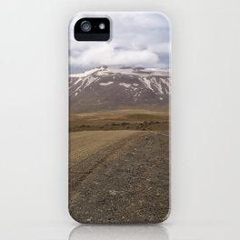 Highland Route F35, Iceland iPhone Case