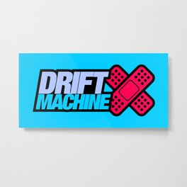 Drift Machine v4 HQvector Metal Print