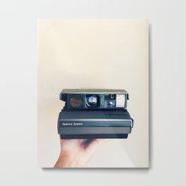 Polaroid Spectra Love Metal Print