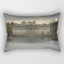 Royal Palace in Warsaw Baths Rectangular Pillow