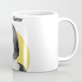 You're a Queen - yellow Coffee Mug