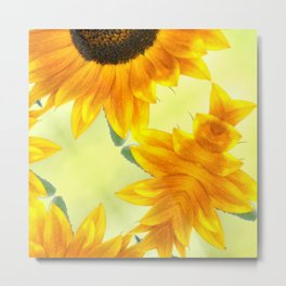 SUNFLOWER - PLAY Metal Print