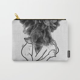 Let's make a storm of love. Carry-All Pouch