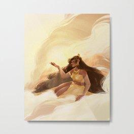 Hanan: Goddess of the Morning Metal Print
