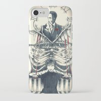 hannibal iPhone & iPod Cases featuring Hannibal by Lunzury