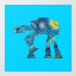 Starry Walker Canvas Print