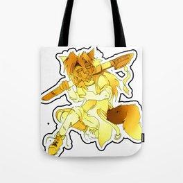 Yellow Spirit Tote Bag
