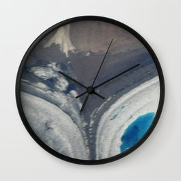 Greenland Glacial Heart Wall Clock