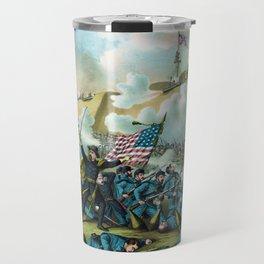 The Capture of Fort Fisher - Civil War Travel Mug