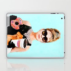Breakfast at Dunkin Donuts - Audrey Hepburn Laptop & iPad Skin