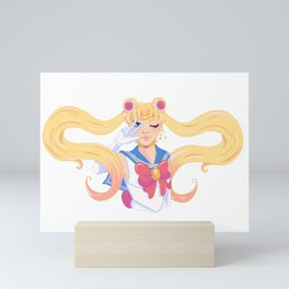 Pretty Guardian of Love Mini Art Print