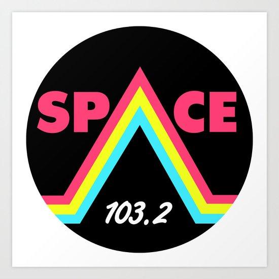 Space 103.2 Art Print