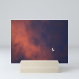 Hide and Go Find Moon Mini Art Print