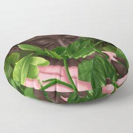 Green Mask Floor Pillow