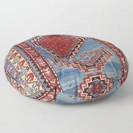 Kazak  Antique South West Caucasus Rug Print Floor Pillow