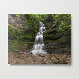 Cathedral Falls, Gauley Bridge, WV Metal Print