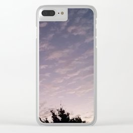 Texas Hill Country Sky - Sunrise 1 Clear iPhone Case