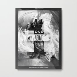 One Above One Metal Print