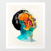ford Art Prints featuring Anatomy [Ellis+Ford] by Alvaro Tapia Hidalgo