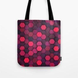 Geometric bright polygonal pattern  Tote Bag