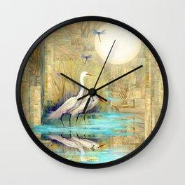 Nature Reflected Series: Local Life Wall Clock