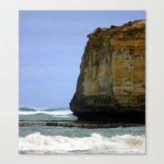 Volcanic Plate & Gigantic Limestone Cliffs Canvas Print