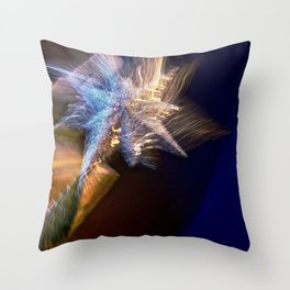 Abstract Star Of Wonder Throw Pillow