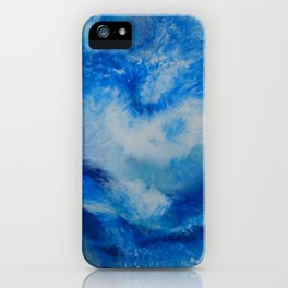 And the Heavens Opened up for Michael iPhone Case