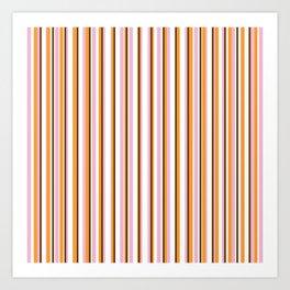 Cool Stripes Art Print