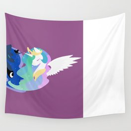 Princesses of Day and Night Wall Tapestry